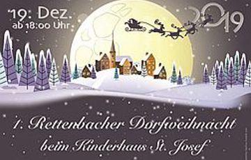 1. Rettenbach Dorfweihnacht