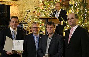 Fuchs Klaus für seine ehrenamtliche Tätigkeit geehrt!