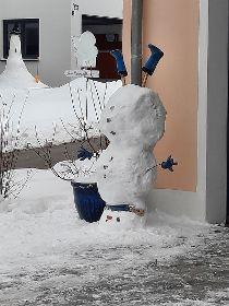 Sonderprämierung der Schneemann-Bilder
