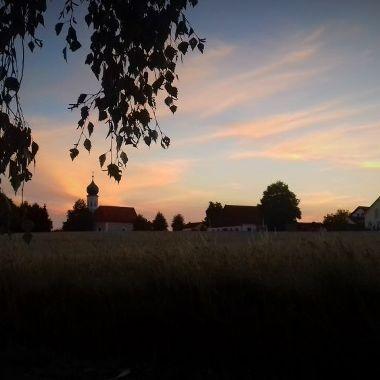 Sonnenuntergang Ebersroith - Michael Herbert - Siegerfoto April