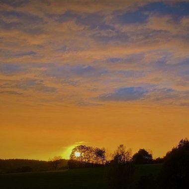 Sonnenuntergang Ebersroith - Michael Herbert