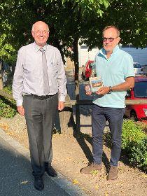 Siegerfoto August:  Abendstimmung in Aumbach im August von Peter Fischer